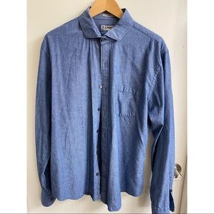 Express Men's Fitted Casual Shirt XL